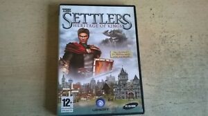 THE SETTLERS 5 V : HERITAGE OF KINGS pc game ORIGINAL & COMPLETE WITH MANUAL VGC