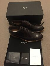 Paul Smith TALBOT en Cuir Marron Richelieu À Chaussures, UK 10 EX DISPLAY RRP £ 285
