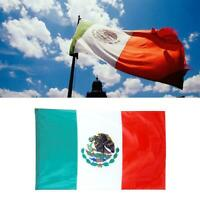 3'x5' Polyester MEXICO FLAG Mexican Country Soccer Banner Outdoor Grom C2N8