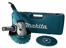 Makita GA9020RFK3 Winkelschleifer im Koffer inkl. 2 Diamantscheiben 230 mm