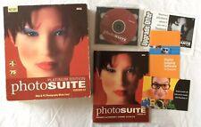 MGI Photosuite Version 4.0 Platinum Edition CD-Rom Software **Big Box**