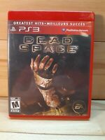 Dead Space (Sony PlayStation 3, 2008) Greatest Hits tested/working