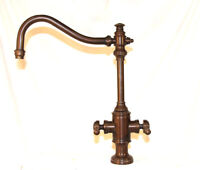 Waterstone 8020 Annapolis Two Handle Kitchen Faucet Bronze Finish w. Side Spray