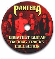 PANTERA ROCK GUITAR BACKING TRACKS COLLECTION JAM TRACKS KARAOKE