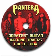 PANTERA ROCK GUITAR BACKING TRACKS COLLECTION JAM TRACKS KARAOKE