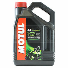 Motul 5100 10W-40 4T Motorcycle Engine Oil 10W40 5 Litres 5L