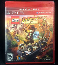 LEGO Indiana Jones 2: The Adventure Continues (SONY PlayStation 3, PS3)