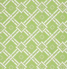 Dena Designs Chinoiserie Chic Espalier Fabric in Green PWDF197 100% Cotton