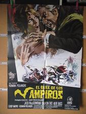 EL BAILE DE LOS VAMPIROS ROMAN POLANSKI SHARON TATE AÑO 1968