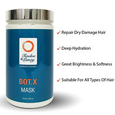 Botox4Hair Repair Dry Damage Hair Treatment BotoxMask Straighten Hair Lanzy 33oz