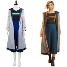 Doctor Dr Who Jodie Whittaker 13th Costume Cosplay Fancy Dress Jacket T-shirt
