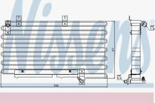Nissens 94000 Kondensator Klimaanlage
