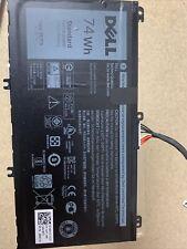 K KYUER 11.1V 74Wh 357F9 Laptop Battery for Dell Inspiron 15 7000 7566 7567 7557