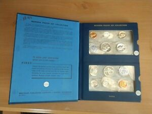 U.S. Mint Modern Proof Set Collection 1958-1964 in Whitman Album #9459