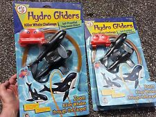 lot 2 sets NEW Hydro Gliders killer Whale Challenge Pool water toy Wild Planet