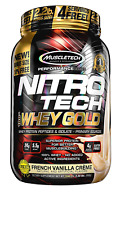 MuscleTech NitroTech Whey Gold, 100% Whey Protein Powder, Whey Isolate and Whey