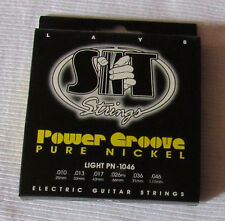 Guitar Strings Electric, Power Groove, Pure Nickel Light Set PN-1046