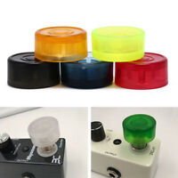 5pcs footswitch colorful plastic bumpers protector for guitar effect pedal ON YK