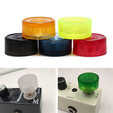 5pcs footswitch colorful plastic bumpers protector for guitar effect pedal st