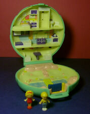 Polly Pocket Mini ♥ Polly`s Beach House ♥ 100% Komplett ♥ 1989 ♥
