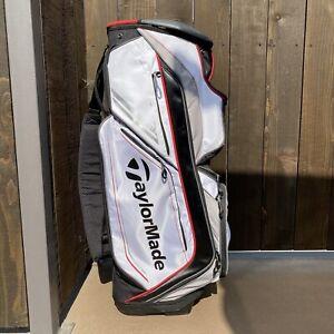 TaylorMade Catalina Cart Bag / 14 Way Divider / 9 Pockets / Rain Cover Incl.