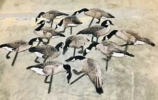 REAL GEESE Pro-Series II - Silhouette Decoys - Canada Goose - Set of 12 - WF-902