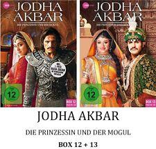 Jodha Akbar - Die Prinzessin und der Mogul - Box 12 + 13, 2x3 DVD NEU + OVP!
