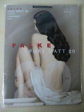 Falke Pure Matt 20 Tights Feinstrumpfhose / Strumpfhose / platinum Gr. S / 40120