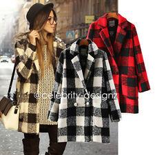 Wool Blend Winter Women's Basic Coats