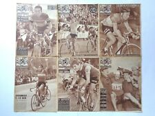 Vintage 1956 'BUT-CLUB' ~ MIROIR DES SPORTS French Cycling Magazines x 6 copies