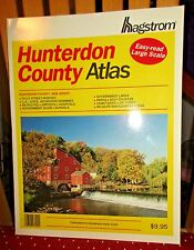 VINTAGE HAGSTROM ATLAS MAP OF HUNTERDON COUNTY NJ 1996 PAPERBACK