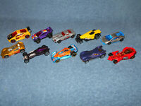 HOT WHEELS & MATCHBOX 1:64 DIECAST CAR LOT OF 10 - ALL VERY NICE CONDITION