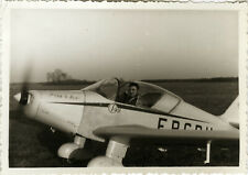 PHOTO ANCIENNE - VINTAGE SNAPSHOT - AVION AVIONNETTE MARIN LA MESLÉE - PLANE 2