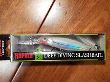 "New Rapala X-RAP Deep diving slashbait XRD-10 GLGH glow ghost 4"" lure"