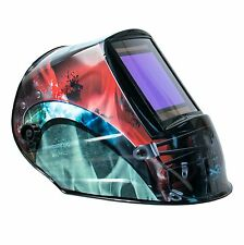 "TGR Extra Large View Auto Darkening Welding Helmet - COSMOS - 4""W x 3.65""H View"