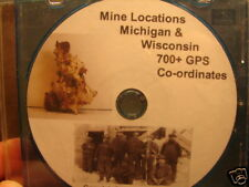 700 Mine Rock Collecting Prospecting Locations Michigan
