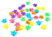 36 BIKE CYCLE BICYCLE CHILD KID WHEEL SPOKE COLOURED BEADS STAR SPOKEY DOKEY 2A