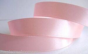 Double Face Satin Ribbon 1 1/2 inch x 3 yards (9 feet of ribbon) 34 COLORS