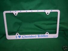 Cherished Teddies License Plate Cover *Unique* Htf * Free Usa Shipping