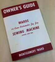 WARDS SEWING MACHINE OWNERS GUIDE MANUAL 14 CAM AUTOMATIC ZIG ZAG MODEL URR 285