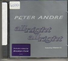 (BV872) Peter Andre, All Night All Right - 1998 DJ CD
