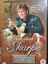 Sean Bean SHARPE'S HONOUR / SHARPE'S GOLD ~ TV Drama Double Bill | UK DVD