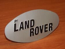 "Early 2 door Range Rover Classic ""by Land Rover"" oval badge - Free Postage!"