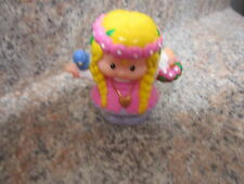 Fisher Price Little People Castle Fort Palace Princess maid marian flowers bird