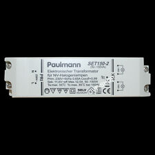 Paulmann SET150-2 Elektronischer Halogen Trafo 12V 150W SET-150-2 Transformator