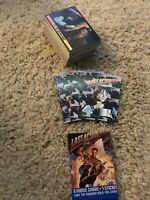 1993 Topps LAST ACTION HERO COMPLETE BASE CARD & STICKER SET OF 88 & 11. NM/M
