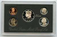1995 United States Silver Proof Set 5 Coin Collection - US Mint