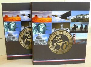 USA Numisbriefe Edition State Quarters Cover Collection 50 Briefe Bundesstaaten