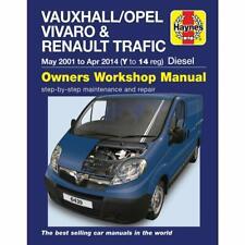 New Vauxhall/opel vivaro & Renault trafic Haynes Workshop Manual