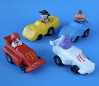 McDonald's Vintage 1988 Turbo Macs Complete Set of 4 Canada Happy Meal Toys!